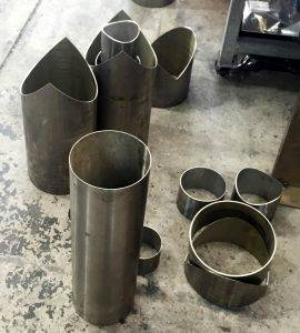 316 stainless steel laser cut tubes