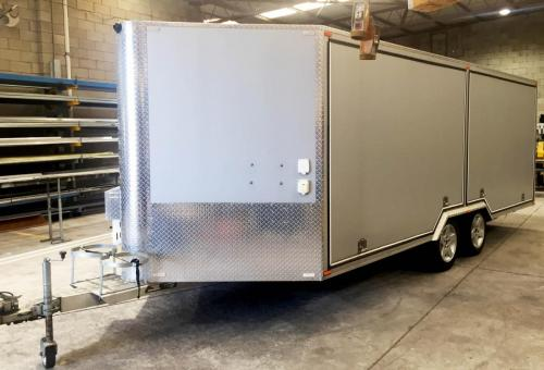 Fabricated trailer