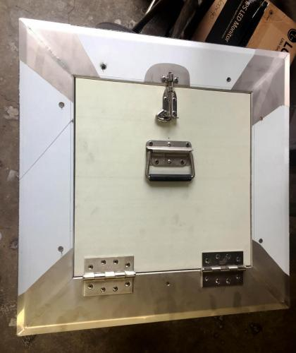 316 stainless sheet metal hatch