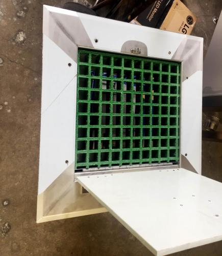 Fabricated hatch